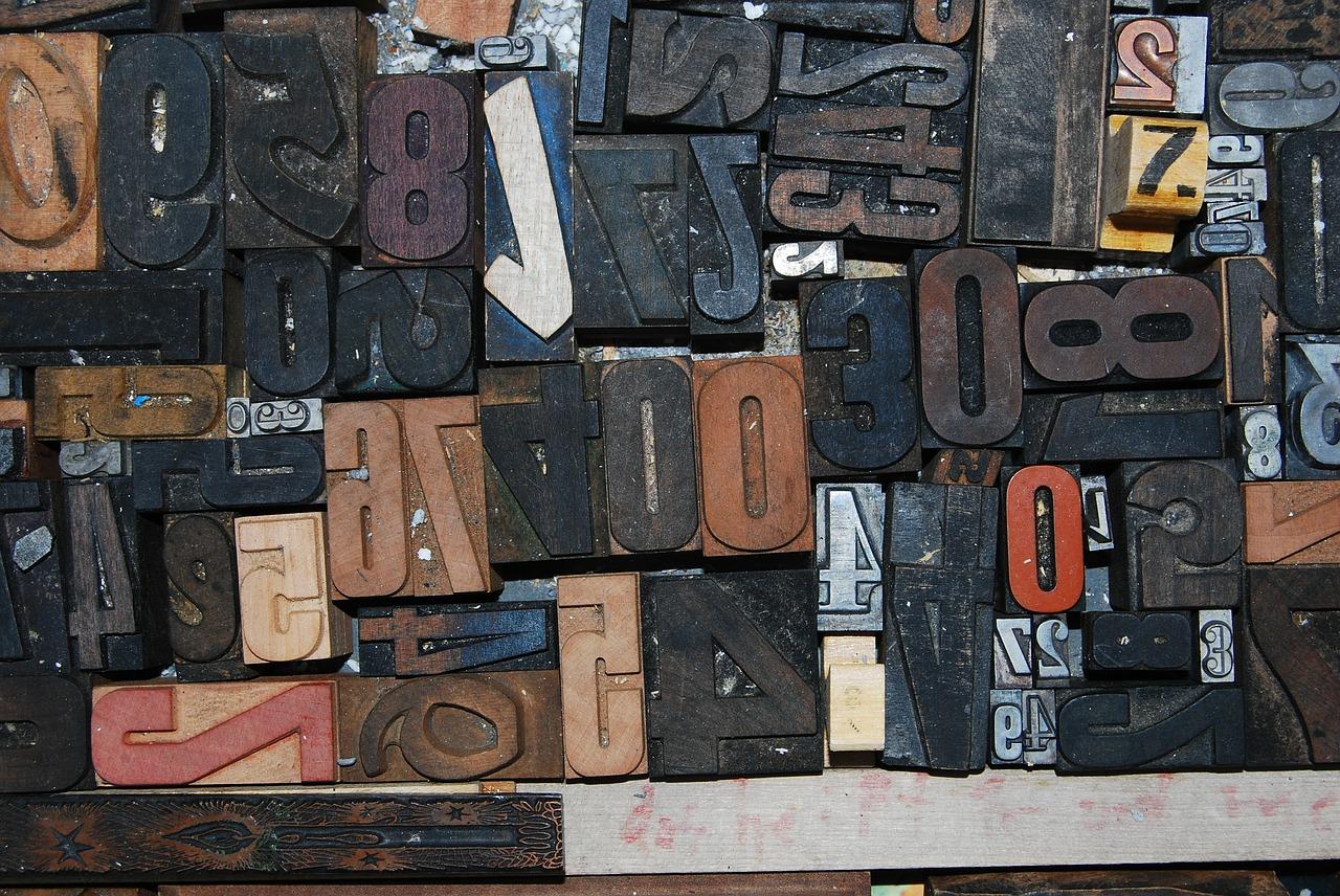 Chiffres et typographie