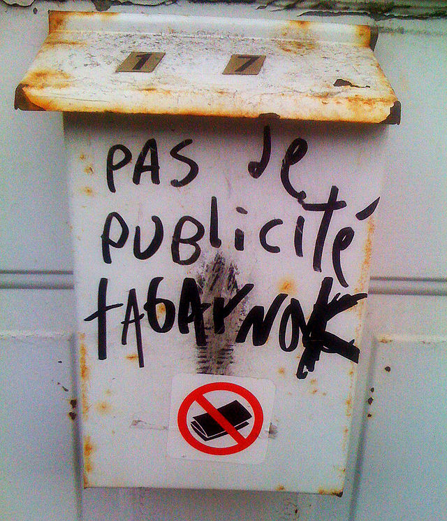 Graffiti tabarnak!