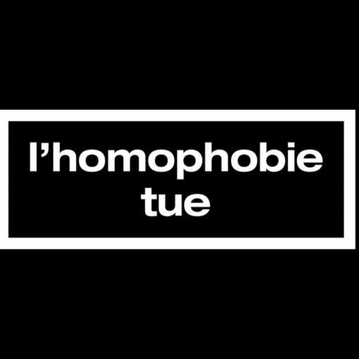 L'homophobie tue.